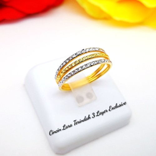 CINCIN LARA TERINDAH 3 LAYER EXCLUSIVE