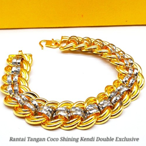 RANTAI TANGAN COCO SHINING KENDI DOUBLE EXCLUSIVE