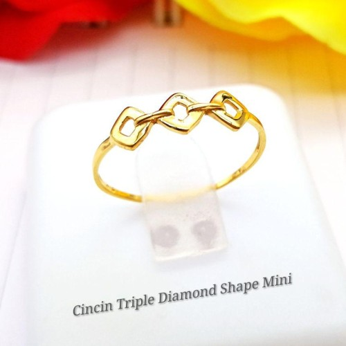 CINCIN TRIPLE DIAMOND SHAPE MINI